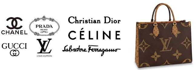 CHANEL PRADA CHRISTIANDIOR GUCCI LOUISVUITTON CELINE SALVATOREFERAGAMO
